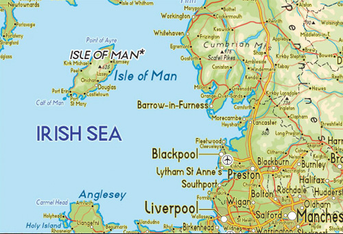 Map - Isle of Man