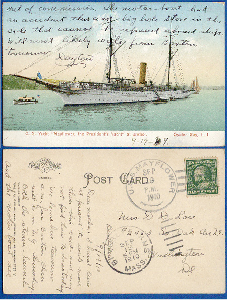 ussmayflower postcard